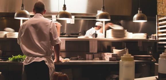 Van kok naar kantoorbaan.